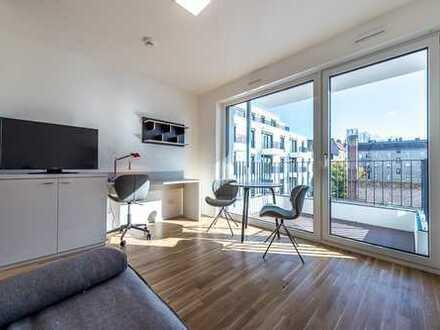 möbliertes Traum-Apartment in urbaner Lage - HTW direkt ums Eck