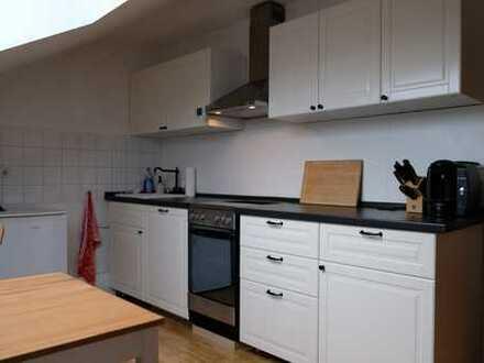 Klein aber fein - Do.-Brechten - 1-Zimmer-Dachgeschosswohnung mit saniertem Tageslichtbad