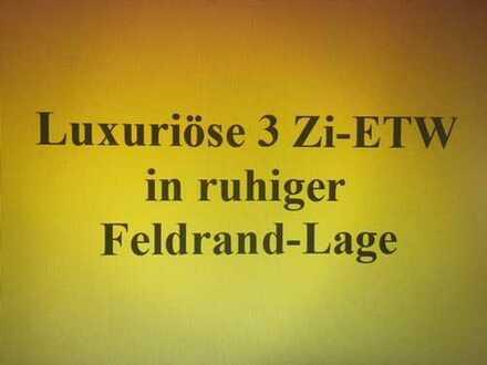 Luxuriös ausgestattete 3 Zi-ETW mit off. Kamin in ruhiger Feldrand-Lage