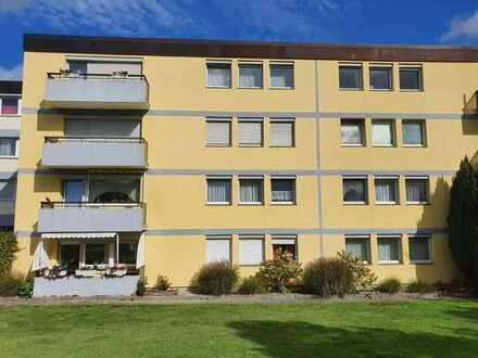 Modernisierte 2-Zimmer-Wohnung mit Balkon in Lotte