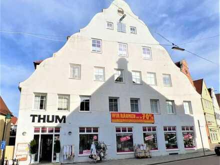 Seltenes Angebot: Etablierte Gewerbeeinheit in bester Nördlinger Innenstadtlage