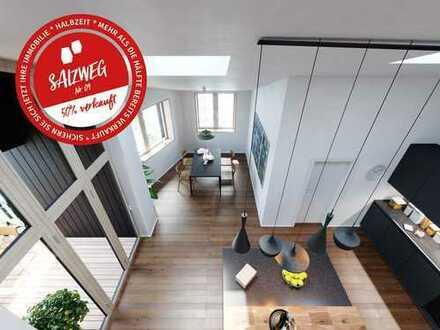 Wohnen am Salzweg: 4-Zimmer-Maisonette, 2. OG/DG, 98qm