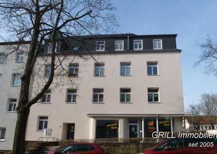 mit BALKON* ruhig gelegene 2 Raum-Wohnung im EG* Küche mit Fenster* in Hilbersdorf