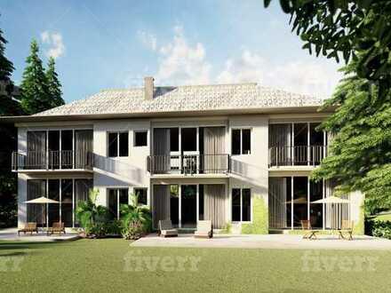 Exklusive ruhige 3-Zimmer-Wohnung am Uhlenhorst auf einem 2500m2 grossen Parkgrundstück