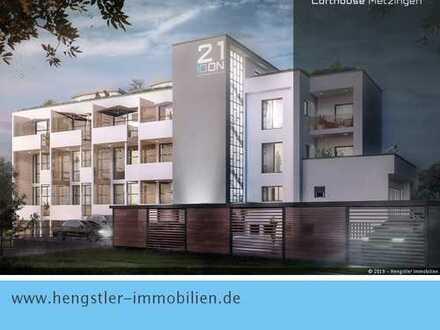 Erstbezug: Exklusive 2-Zimmer-Wohnung im Gartengeschoss mit Terrasse und Garten in 72555 Metzingen