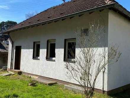 Kleiner Bungalow Rohbau zum Ausbau auch als Feriendomizil in Trulben
