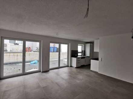Erstbezug: Helle, moderne 4-Zimmer EG-Wohnung mit Terrasse und Garten Nahe Lidl-Zentrale