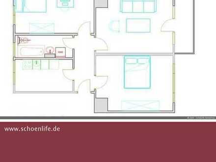 3-Raum-Wohnung am Mozartplatz! **Besichtigung: Sa., 22.02. // 13:30 Uhr**