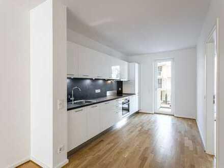 3 Zimmer Wohnung mit EBK & Gäste WC & 2 Balkone