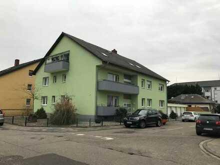 Gepflegte 3-Zimmer-EG-Wohnung mit Balkon in Neulussheim