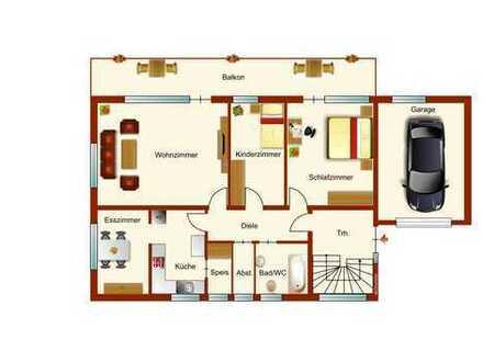 Sanierte 4 Zimmer Wohnung