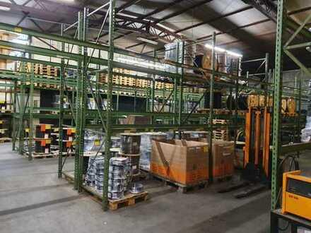 Industriehalle mit Büroräumen und grossen Aussenfläche