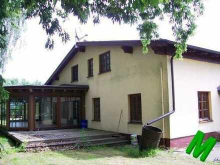 + Maklerhaus Stegemann + großzügiges Anwesen auf Rügen mit Wohnhaus, Bürogebäude und Hallen