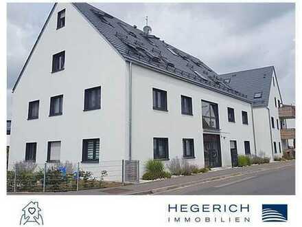 HEGERICH: Gartenwohnung mit Wohlfühl-Terrasse in Großgündlach!