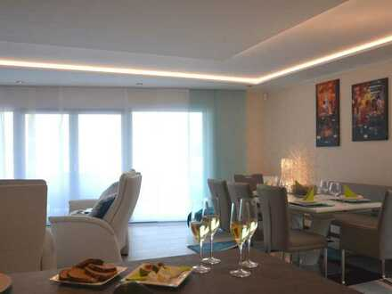 SPECIAL OFFER - Möblierte 3,5 Zimmer-WE, große Terrasse, Strand und Seeblick - EXKLUSIVE & LUXUS