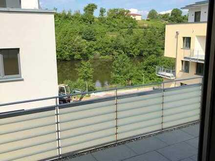 Erstbezug: sonnige 2-Zimmer-Wohnung mit Neckarblick in Gemmrigheim