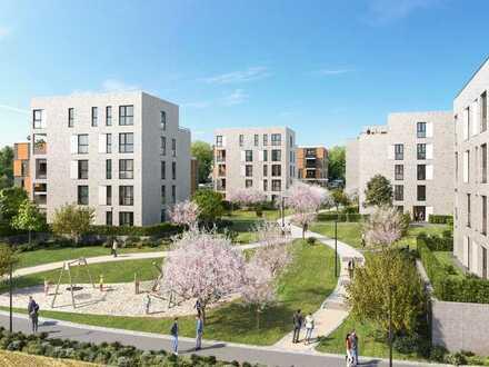 PANDION LEON - Großzügig geschnittene 4-Zimmer-Wohnung mit Süd-West-Balkon
