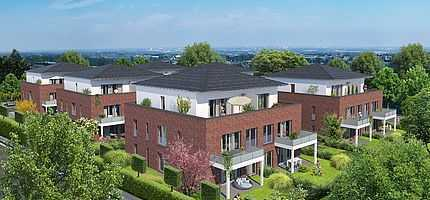 Erstbezug: moderne 3-Zimmer-Wohnung mit Balkon in Korschenbroich
