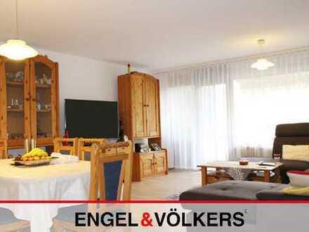 4-Zimmer Wohnung mit Garage und 2 Balkonen!