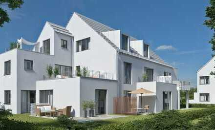 Dachau: Schicke 2-Zi-Wohnung mit grossem Sonnenbalkon in toller Neubau-Wohnanlage