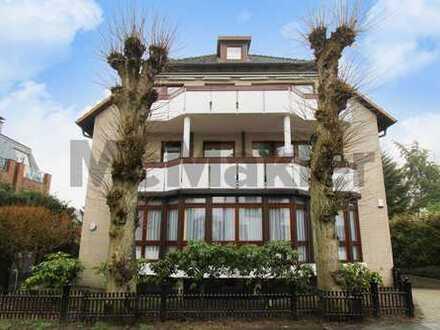 Helle und sanierte Maisonette mit großem Balkon in Blankenese