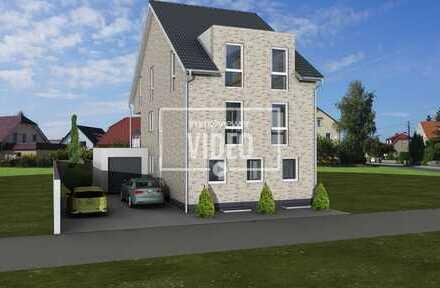 Neubau einer Doppelhaushälfte mit 2-Wohneinheiten in zentrale Lage von Niederkrüchten!