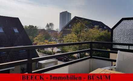 # Büsum/Kurviertel: 1,5 Zimmer Maisonettewohnung im 2. OG mit Südbalkon!