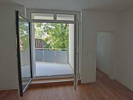 Erstbezug nach Sanierung mit Süd-Balkon: wunderschöne 2-Zimmer-Wohnung im Herzen von Mengede