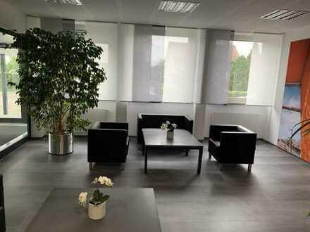 Büroflächen in Bürokomplex