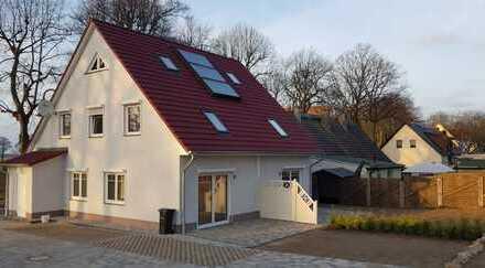 """ERSTBEZUG - Wohnung mit Garten (Doppelhaushälfte) im """"KASTANIENHOF"""" in Zirchow/Usedom"""