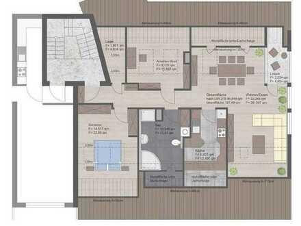 Helle renovierte 3-Zimmer-DG-Wohnung mit Loggia und TG-Platz