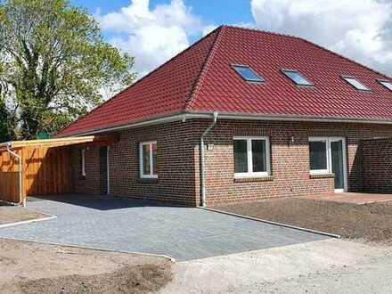 Erstbezug: schöne 5-Zimmer-Doppelhaushälfte zur Miete in Rechtsupweg