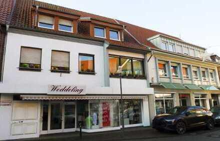 Wohn- und Geschäftshaus mit ca. 330 m² Wohnfläche im Ober- und Dachgeschoss im Herzen von Borken