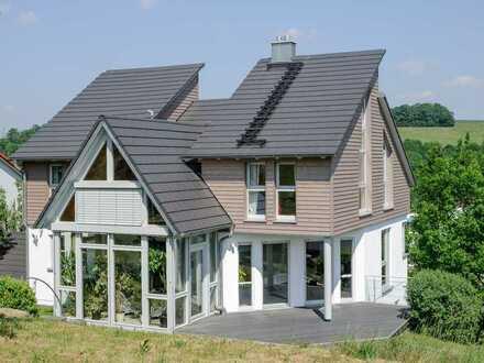 Modernes Niedrigenergiehaus in ruhiger Lage von Burkardroth zu vermieten