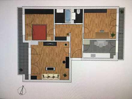 *Familie Willkommen - 3 Zimmer mit Balkon direkt am Naturschutzgebiet *
