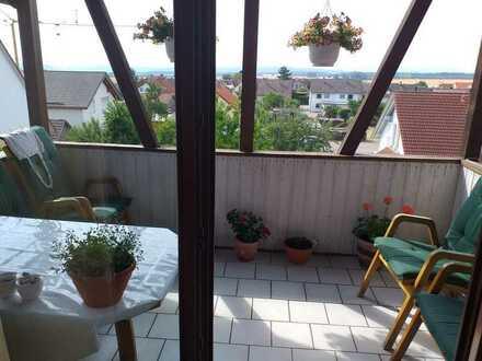 Attraktive Dachgeschosswohnung mit EBK und Balkon in Bierlingen-Starzach