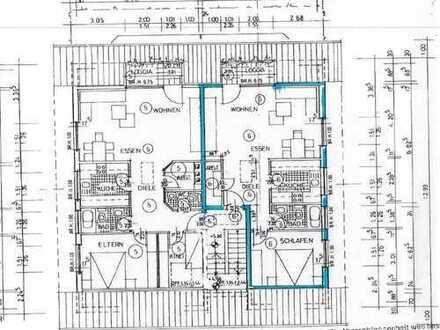 Provisionsfrei! ETW 2,5 ZKB, Balkon u. großer Speicher. Ca. 123 m² Wohn- u. Nutzfl. Ruhige Lage.