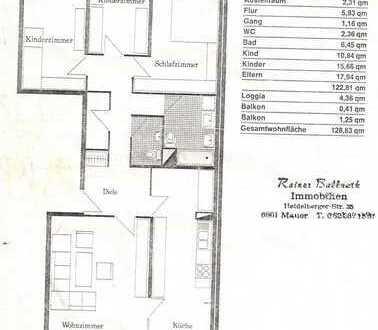 Gepflegte 4,5-Zimmer-Terrassenwohnung mit Balkon und EBK in Heidelberg