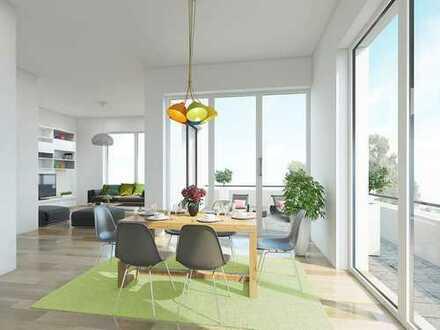 Einziehen und wohlfühlen! Moderne 3-Zimmer-Wohnung mit Ankleide, Tageslichtbad en suite und Balkon