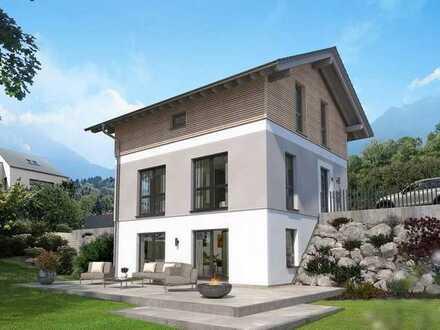 Einfamilienhaus !!Grundstückservice!! Besonderes Haus für Gelände mit toller Aussicht