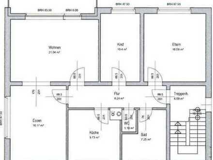 Vollständig renovierte 4-Zimmer-Wohnung mit Balkon und EBK in Spelle