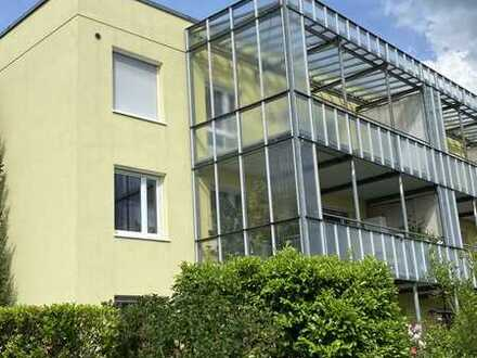 Vollständig renovierte 2-Raum-Wohnung mit Balkon und Einbauküche in Karlsruhe-Hohenwettersbach