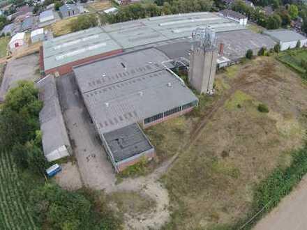 Nähe A61: Ca. 12.000 m² beheizbare Hallenfläche mit Ladenrampen - Grundstückswert ca. € 1.000.000,--