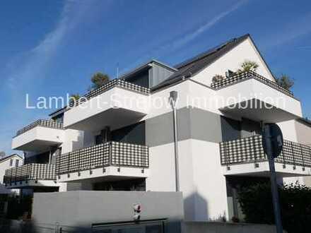 Mainz-Marienborn, neuwertige, moderne, möblierte 3 ZKB-ETW, 2 Balkonen und 2 TG-Plätzen + Aufzug
