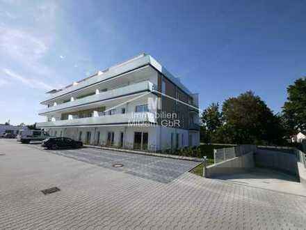 NEUBAU: CENTRO Vohburg; Moderne Praxen/Apotheke in optimaler Lage; EG-Einheit mit 137m²