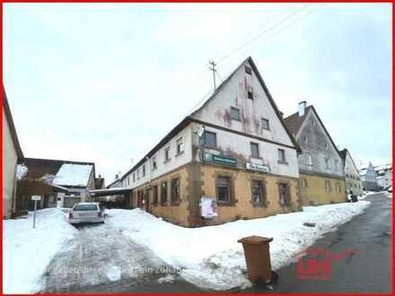 Abrissgebäude in zentraler Lage von Salzstetten