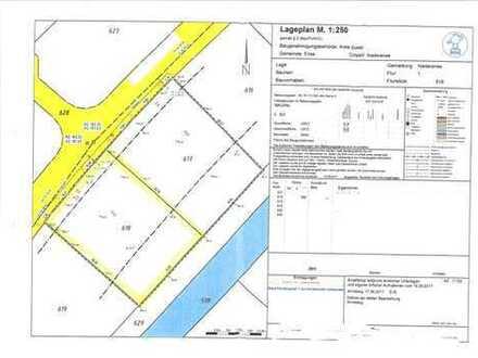 Grundstück in Niederense  (mit Planung für 2 Doppelhaushälften)