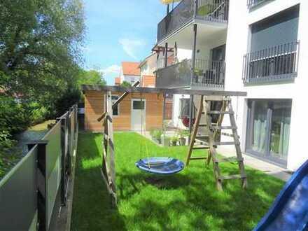 Idyllisches Wohnen an der Lindach, Haus im Haus mit Garten und Garage