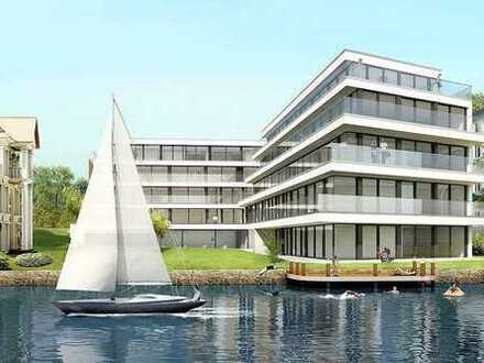 Exclusive flat with terrace, chimney, underground parking, private marina & swimming pool