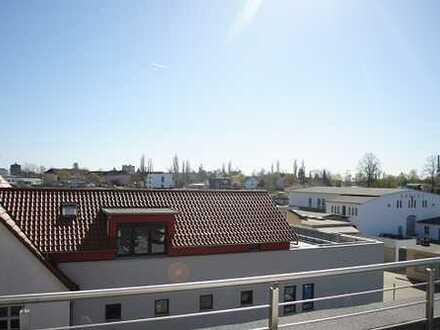 Wohnen in bester Lage Braunschweigs - Penthouse über 2 Etagen mit Tiefgaragenstellplatz, Nähe VW